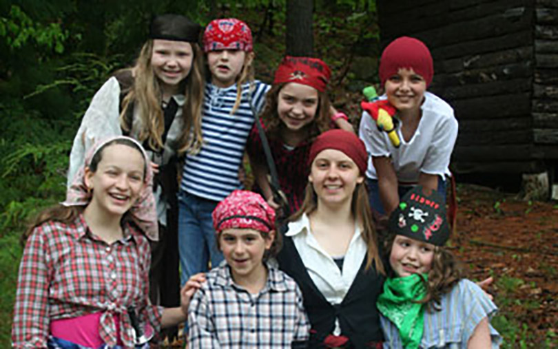 Pirate Ayla and Crew