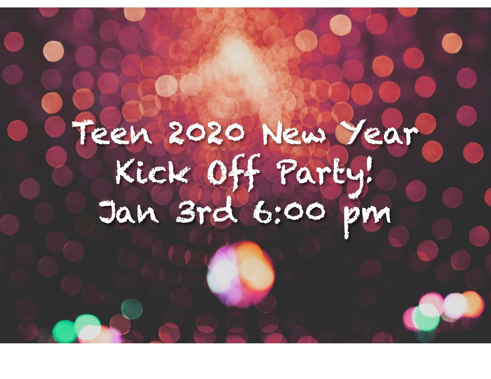 Teen 2020 New Year Party